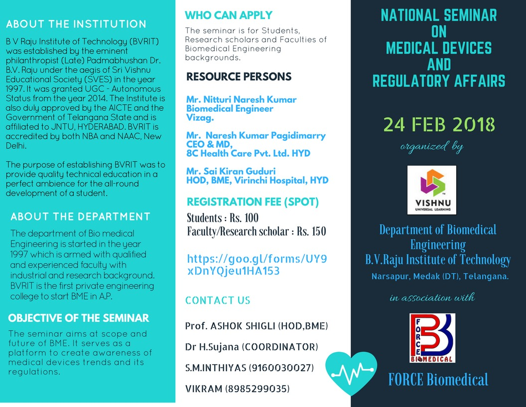 National Seminar on Medical Devices and Regulatory Affairs